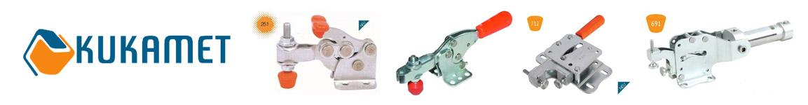 Kukamet Spanntechnik, Schnellspanner, Kniehebelspanner, Verschlussspanner